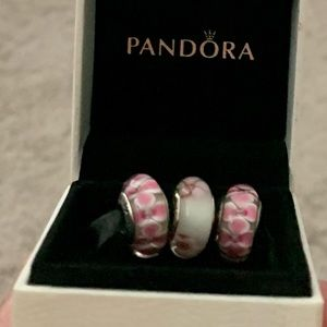 Pandora PINK 3 bundle with free authentic box for BCA month